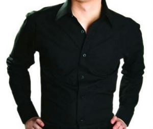 Stylish Party Wear Black Shirt For Men