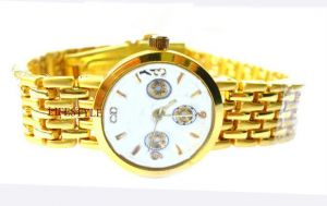 Sober Gold Plating Watch