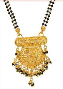 Mangalsutraethnic Heavy Gold Forming Mangalsutra