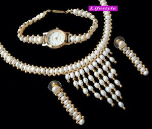 Exclusive Fresh Water Pearl Set .....ls249