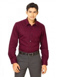 The Very Stylish Maroon Shirt For Men