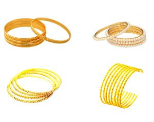 Jewellery Jackpot Offer Gold Plated Kada Hamper