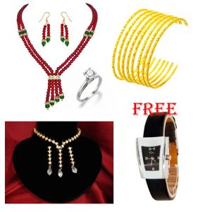 Jewellery Combo With Free Women