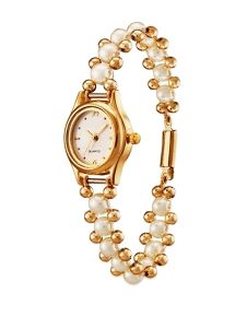 Rakhi Gifts (for Sisters) - Versatile Pearl Watch .... Perfect Rakhi Gift for your Sister