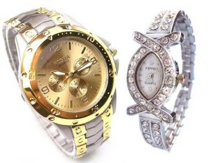 Classy Couple Watch Set 26