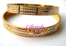 Gold Plated Jewellery Rhodium Kada