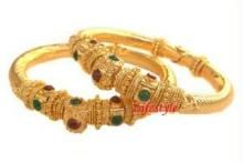 Jewellery Gold Plating Ethnic Kada (pair)