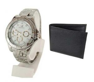 Buy 1 Wrist Watch And Get A Wallet Free Wallwatch1