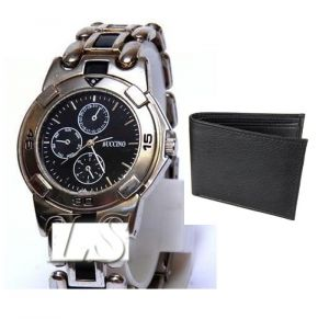 Buy 1 Wrist Watch And Get A Wallet Free Wallwatch20