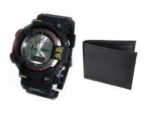 Buy 1 Wrist Watch And Get A Wallet Free Wallwatch44