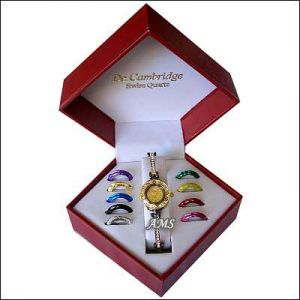 Rakhi Gifts (for Sisters) - Exclusive Watch Set with 10 changeable Dials