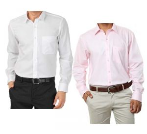 Set Of White And Pink Shirts..cool Summer Offer