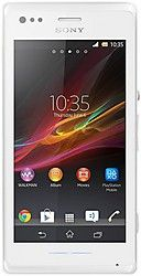 Sony - Sony Xperia M Dual White Mobile Phone