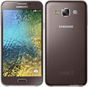 Samsung Galaxy E5 Brown Mobile Phone