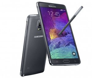 Samsung Note 4 Mobile Black Mobile Phone