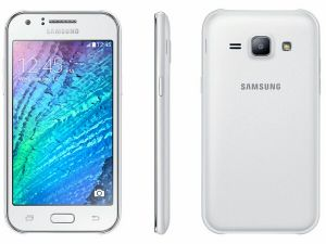 Samsung Galaxy J1 White Mobile Phone