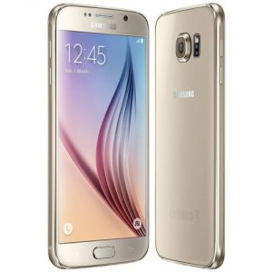 Samsung Galaxy S6 32GB Gold Platinum With Manufacturer Warranty Mobile Phone