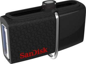 USB Pen Drives (32 GB and higher) - SanDisk SDDD2-032G-G46 / SDDD2-032G-I35 / SDDD2-032G-GAM46 32 GB OTG Drive  (Black, Type A to Micro USB)