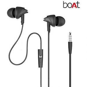 Boat Bassheads 100 In-ear Headphones With Mic