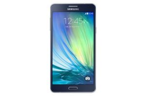 Samsung Galaxy A7 Mobile Midnight Black Mobile Phone