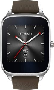 Asus Zenwatch 2 Silver Case With Rubber Strap
