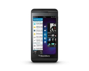 Single sim - BlackBerry Z10 mobile phone
