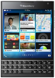Blackberry Mobile Phones, Tablets - BlackBerry Passport (Black, 32GB)