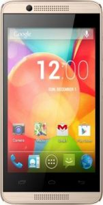 Intex Aqua 3G Pro (brushed Champagne) With Manufacturer Warranty