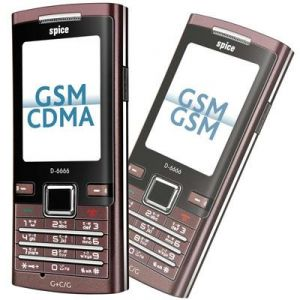 New Spice D6666 Dual Sim Mobile Phone