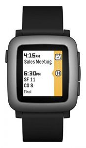 Pebble Technology Corp Time 501-00020 Smartwatch (black)