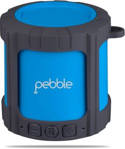 Pebble Blast Portable Bluetooth Mobile/tablet Speaker (blue, Stereo Channel)