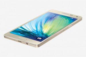 Samsung - Samsung Galaxy A5 Gold Mobile Phone