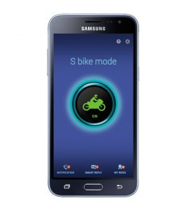 Samsung Galaxy J3 (8gb) With S Bike Mode Nfc Sticker Mobile Phone