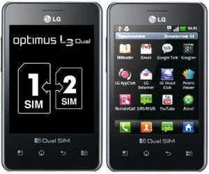 New LG Optimus L3 E405 Mobile Phone