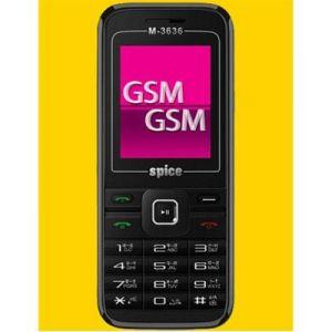 Spice - New Spice M3636 Dual SIM Mobile Phone