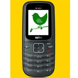 New Spice M4242 Dual Sim Mobile Phone