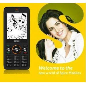 New Spice M6464 Dual Sim Mobile Phone