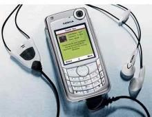 New Nokia 6680 Mobile Phone