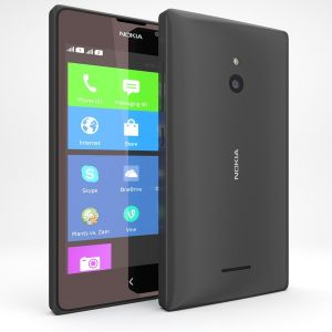 Nokia Xl Mobile - Black