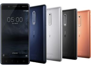 Nokia 5 Mobile Phone Black Internal 16 GB
