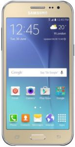 Samsung Galaxy J2 Mobile Phone(gold) With Manufacturer Warranty