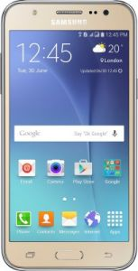 Samsung Galaxy J5 Mobile Phone (gold) With Manufacturer Warranty