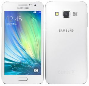Samsung Galaxy A3 White Phone Mobile Phone