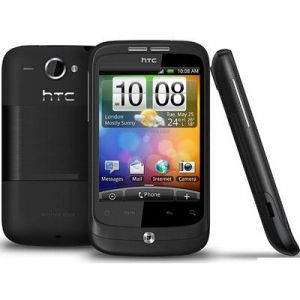 Htc - New HTC Wildfire mobile phone