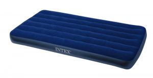 Intex Home Utility Furniture - Intex Inflatable Twin Classic Air Bed/mattress, Blue