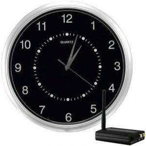 Npc Wireless Wall Clock Security Camera 2400 Mhz,
