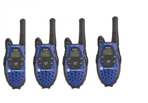 Motorola 5 Miles 4-way Walkie Talkie (all 4 Sets Caliberated)