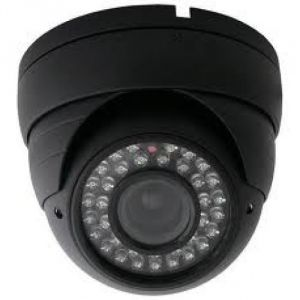 600 Tvl Night Vision Dome Camera 24 LED , 1 Year Waranty