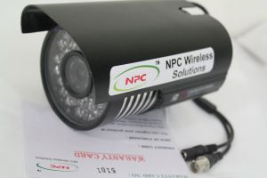 Npc 50 Metres IR Cctv Camera Sony 480 Tvl 16 MM