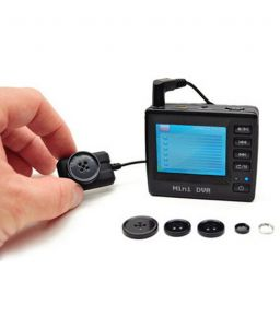 Npc Professional Button With LCD Dvr 4GB